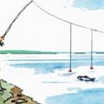 Все о ловле рыбы на перетяжку