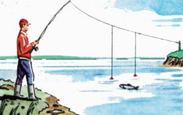 снасть для рыбалки перетяг