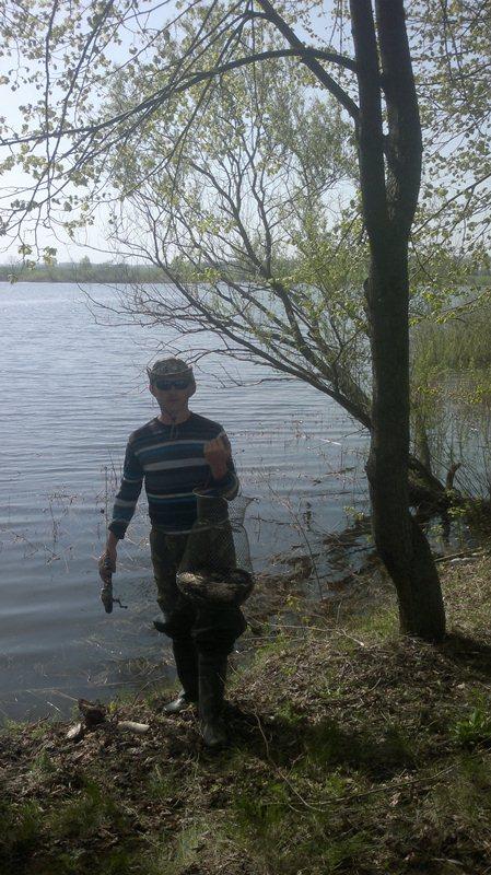 Весенняя ловля карася в мае